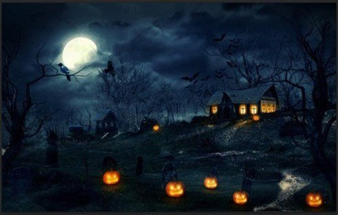create a halloween photo manipulation in photoshop