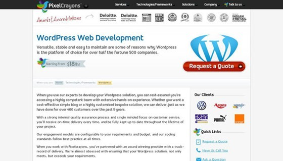 Have a Look Over Top 10 PSD To WordPress Conversion Service Providers