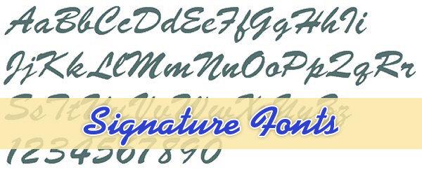 Top Signature Font - Free Download