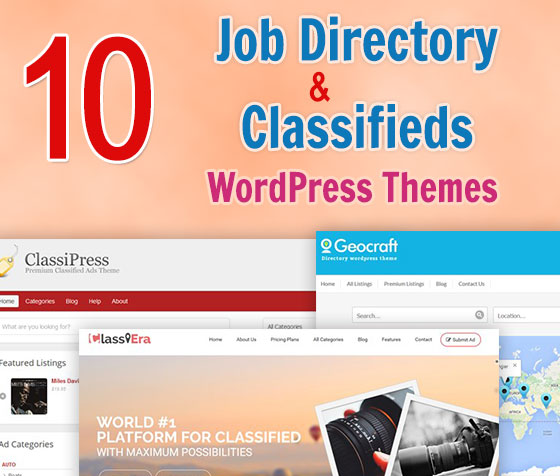Job Directory and Classifieds WordPress Themes
