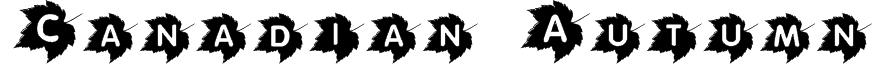 Canadian Autumn Font