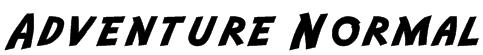 Adventure Normal Font