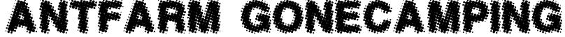 AntFarm GoneCamping Font