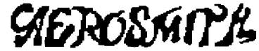 Aerosmith Font