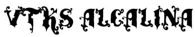 vtks alcalina Font