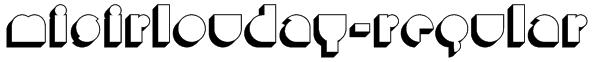 MisirlouDay-Regular Font