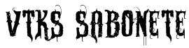 VTKS SABONETE Font