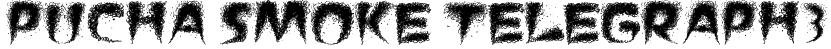 Pucha Smoke Telegraph3 Font