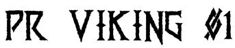 PR Viking 01  Font
