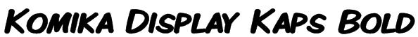 Komika Display Kaps Bold Font