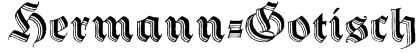 Hermann-Gotisch Font