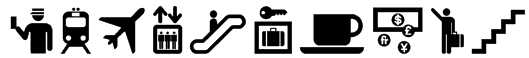 Travelcons Font