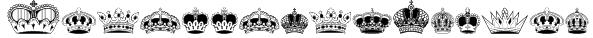 IntellectaCrowns Font