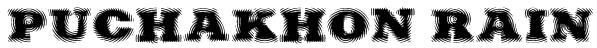 Puchakhon RAIN Font