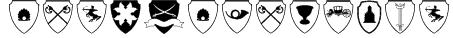 EasyHeraldics Font