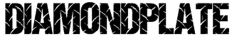 DiamondPlate Font