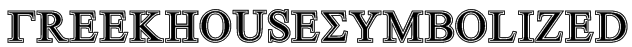 GreekHouseSymbolized Font