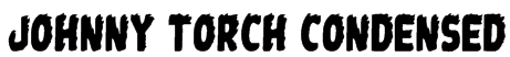Johnny Torch Condensed Font