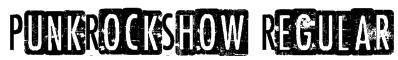 PunkRockShow Regular Font