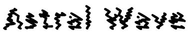 Astral Wave Font