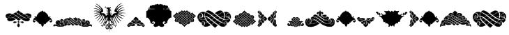 Unpublished Ornaments Font