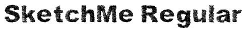SketchMe Regular Font