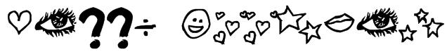 Jenny Doodles Font