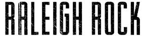 Raleigh Rock Font