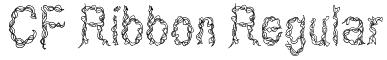 CF Ribbon Regular Font