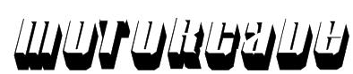 Motorcade Font