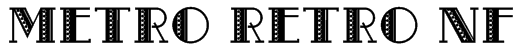 Metro Retro NF Font