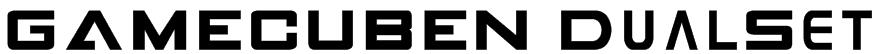 GAMECUBEN DualSet Font