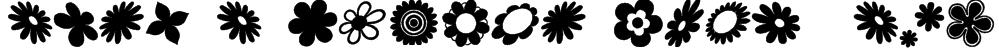 saru's Flower Ding (sRB) Font