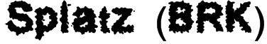 Splatz (BRK) Font