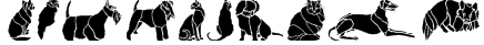 Dogs and Cats Font