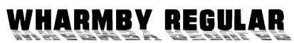 Wharmby Regular Font