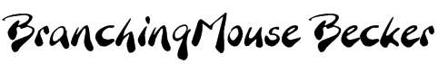 BranchingMouse Becker Font