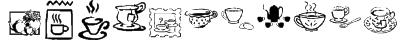 KR Teatime Dings Font