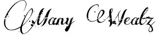 Many Weatz Font