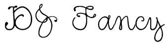 DJ Fancy Font