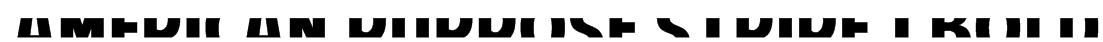 American Purpose STRIPE 1 Bold Font
