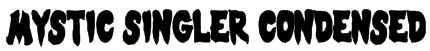 Mystic Singler Condensed Font