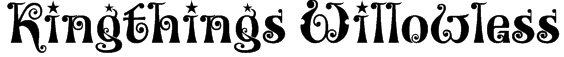 Kingthings Willowless Font