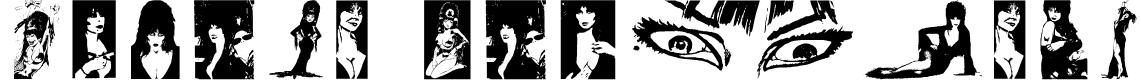 Elvira Dingbats Font