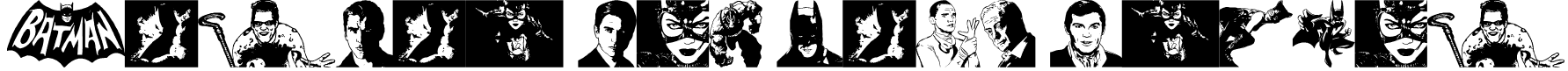 Batman The Dark Knight Font