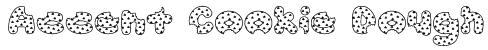 Accent Cookie Dough Font