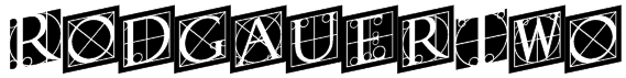 RodgauerTwo Font