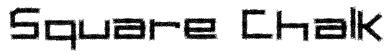 Square Chalk Font
