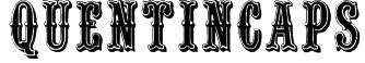 QuentinCaps Font