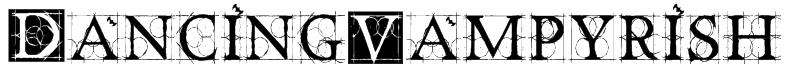 DancingVampyrish Font